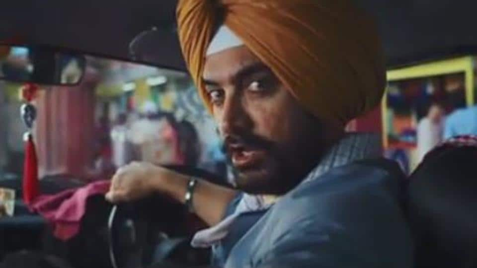 Aamir Khan in a still from an advertisement.