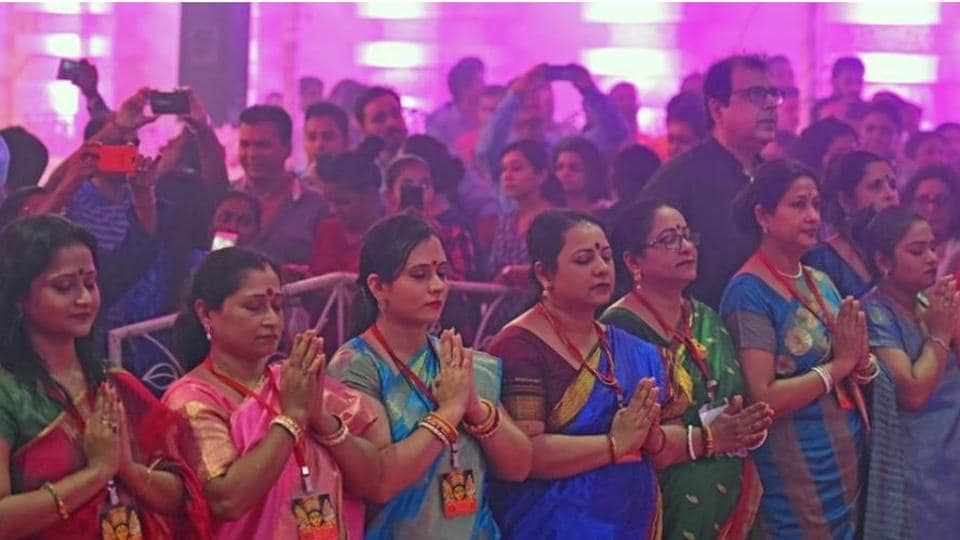 The puja starts with Ghatasthapana, a ritual symbolizing women power and it is considered a very significant ritual.