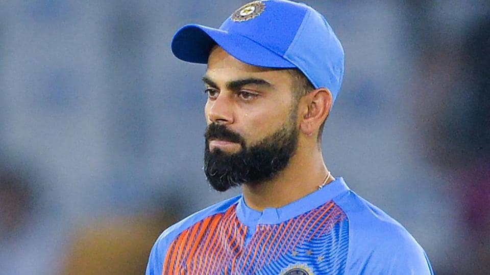 A file photo of Virat Kohli during the T20I series against South Africa.