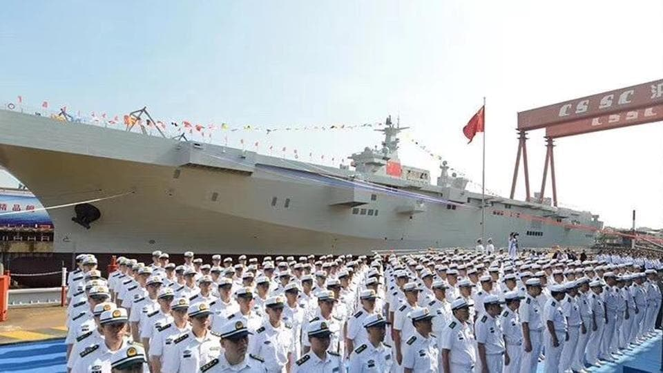 Reports said the new warship has an estimated displacement of 40,000 tonnes and a length of 250 metres.