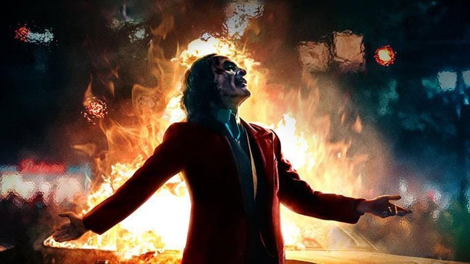 Joker is about a man who turns to violence after feeling rejected and bullied his whole life.