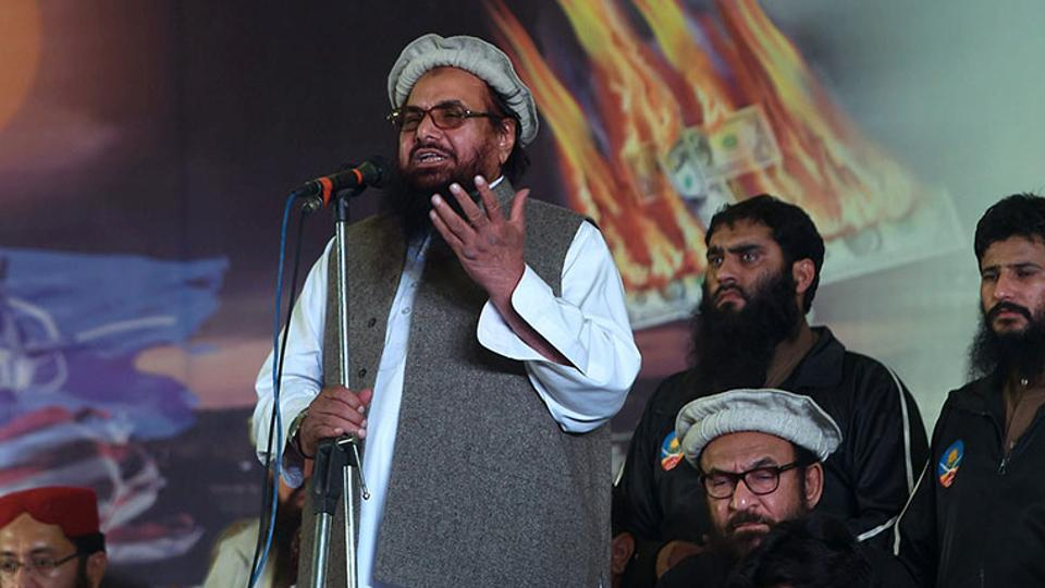 In many ways, Indian officials said the overlap - running a terror group and staying on the rolls of a prestigious university - and the pension payments were indicative of Hafiz Saeed's clout in the Pakistani establishment, military or otherwise. (File Photo)