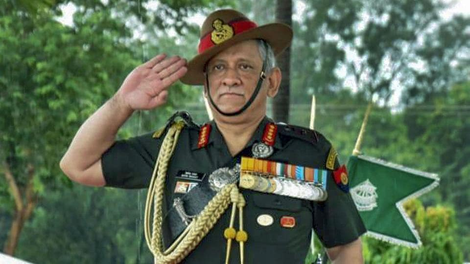 Bipin Rawat  is expected to receive the baton of Chairman of Chiefs of Staff Committee by IAF chief Air Chief Marshal B S Dhanoa