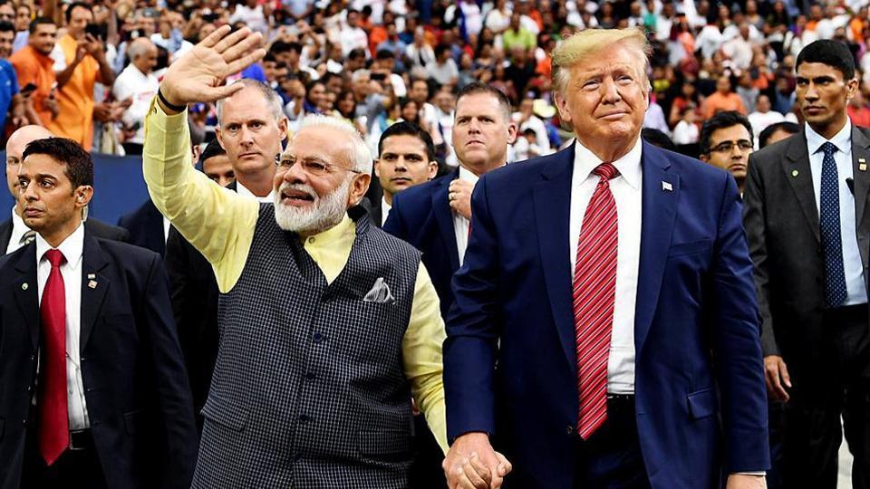 US President Donald Trump has encouraged Prime Minister Narendra Modi to improve ties with Pakistan