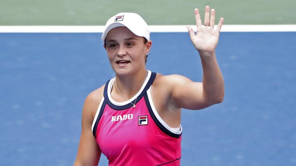 A file photo of Ashleigh Barty.