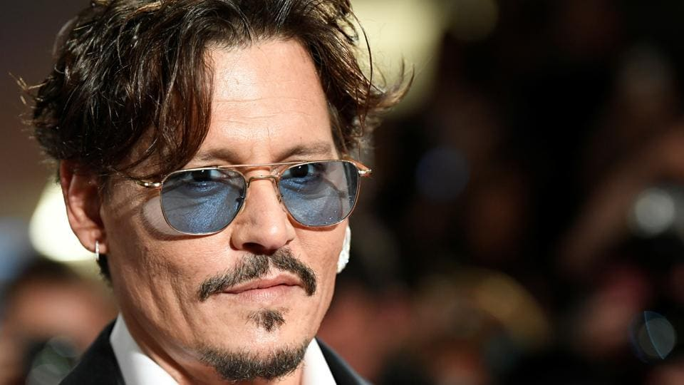 Actor Johnny Depp arrives at the screening of the film Waiting for the Barbarians at the The 76th Venice Film Festival.