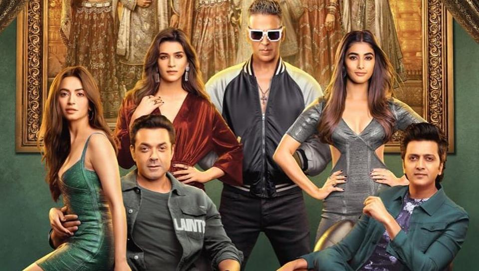 Akshay Kumar stars with Kriti Sanon, Riteish Deshmukh, Bobby Deol, Pooja Hegde and Kriti Kharbanda in Housefull 4.