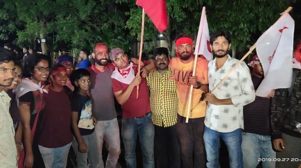 The alliance of the Student Federation of India (SFI), Dalit Students Union (DSU), Ambedkar Students Association (ASA) and Tribal Students' Forum (TSF) bagged all the key posts of president, vice-president, general secretary and joint secretary.
