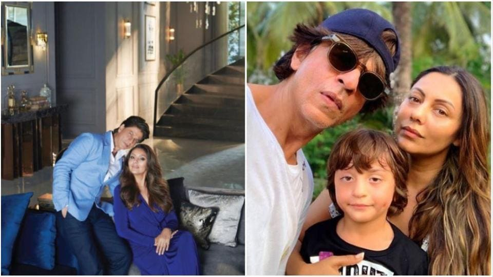 Gauri Khan is happy that she can now travel while Shah Rukh Khan stays home with AbRam.