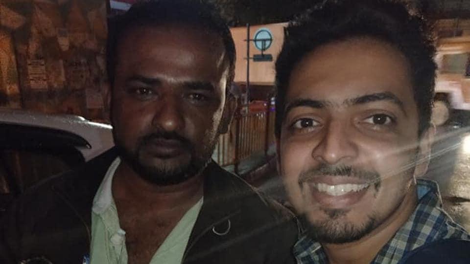 """Meet Mr. KHATEEB UR RAHMAN, who returned my bag (with stuffs worth Rs 2.5 lakhs approx),"" Sayuj Ravindran says on Facebook."