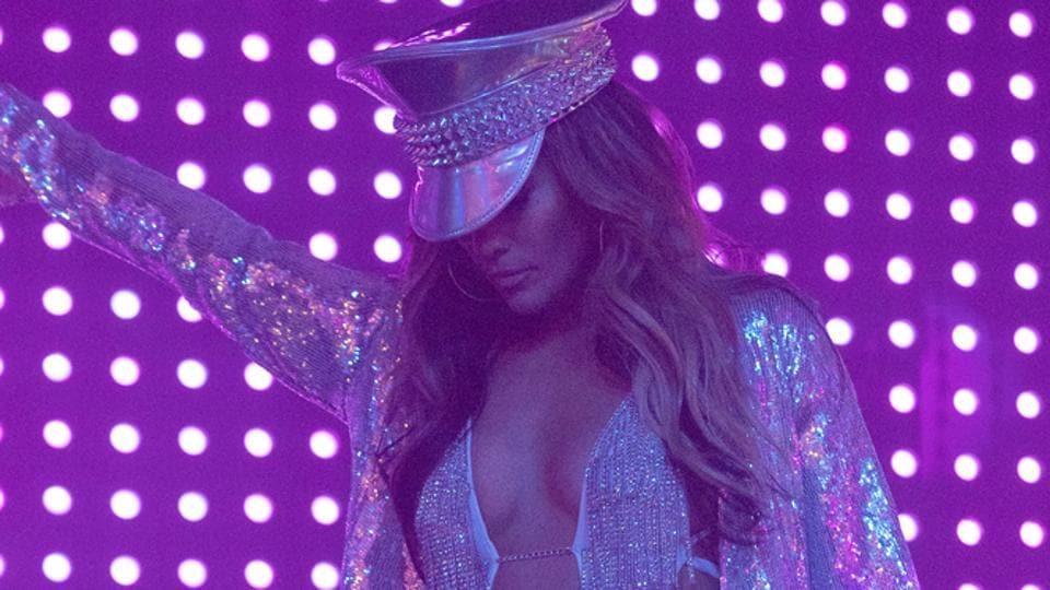 Hustlers movie review: Jennifer Lopez in a scene from Lorene Scafaria's new film.