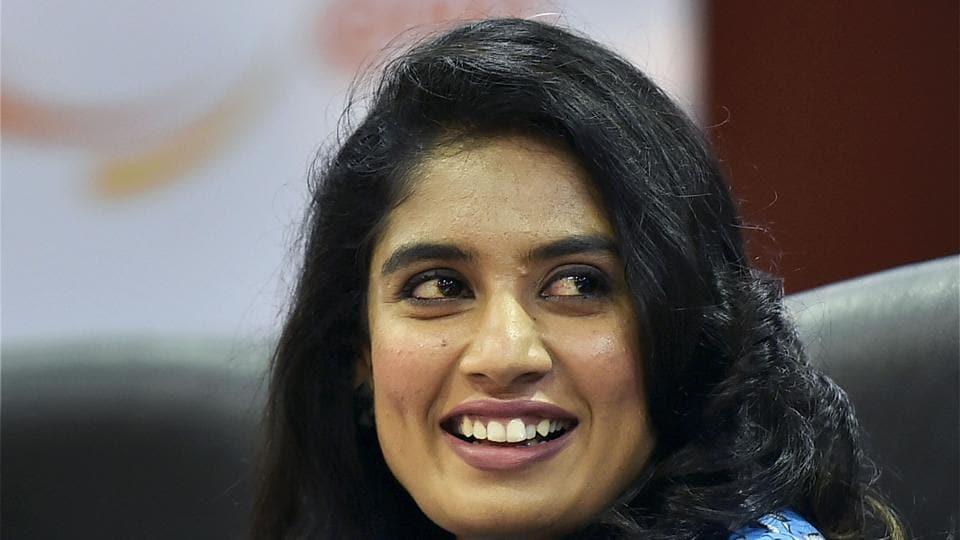 Indian women's ODI cricket team captain Mithali Raj during an event