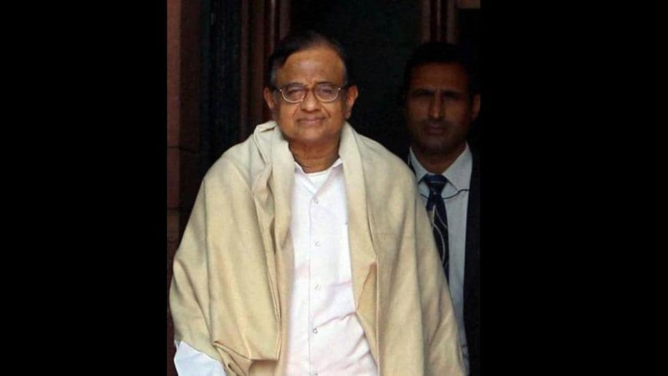 Former finance minister PChidambaram was arrested by the CBIin the INX Media case last month