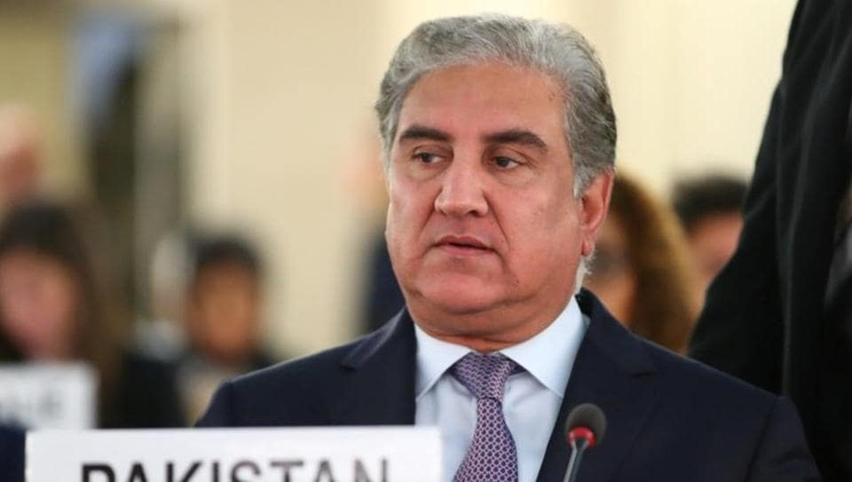 Pakistan foreign minister Shah Mahmood Qureshi