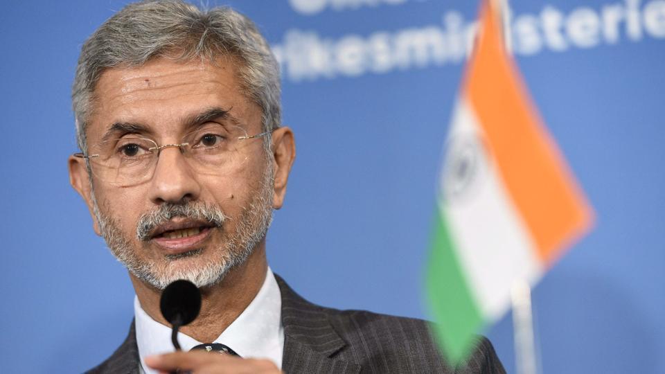 IMinister of External Affairs Subrahmanyam Jaishankar