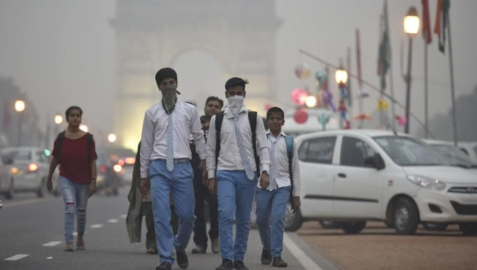 India has one air quality monitoring station for every 7 million people while China has over eight times that number.