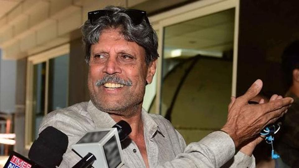 File image of Kapil Dev.