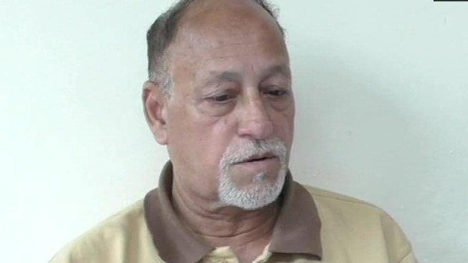 Lt Col Rajneesh Parmar's father