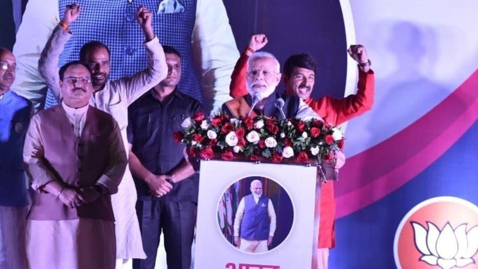 Prime Minister Narendra Modi arrives in Delhi after week-long US visit.