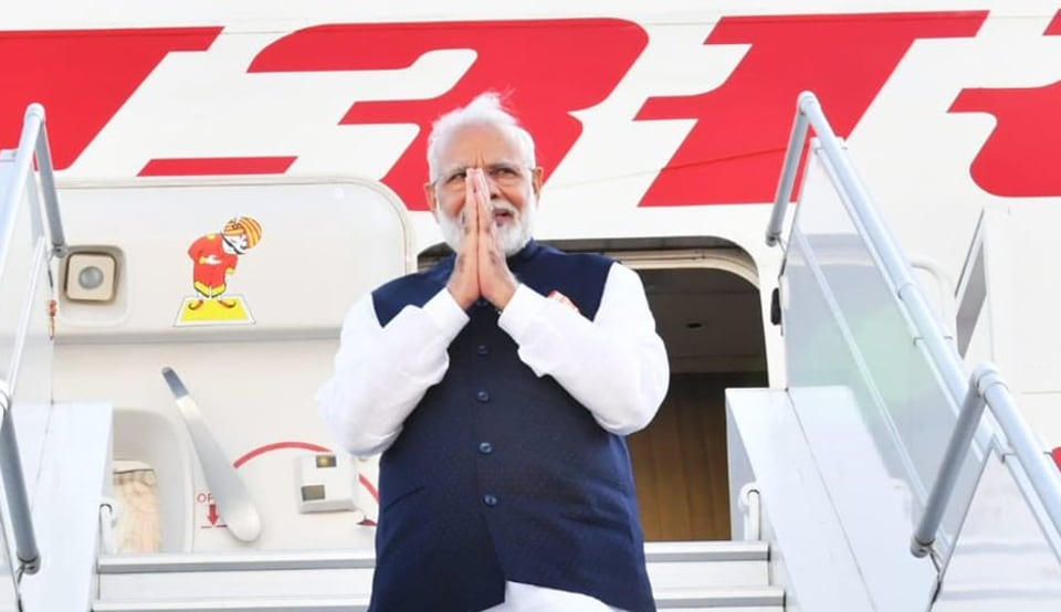 Prime Minister Narendra Modi concluded his US visit, thanking the American people