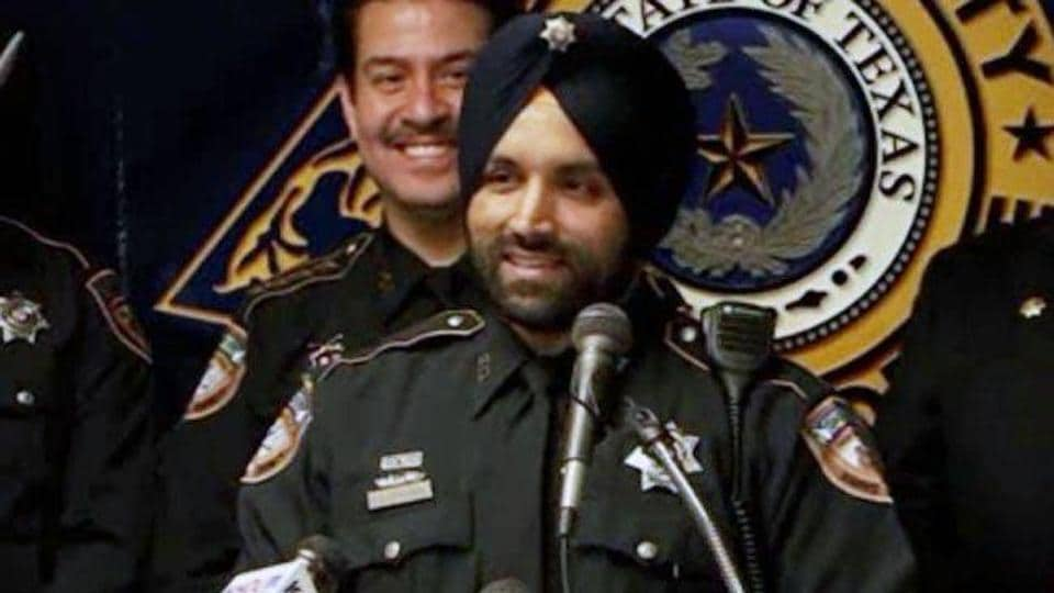 Dhaliwal, who was in his early 40s, was the first police officer in Texas to serve while keeping his Sikh articles of faith, including a turban and beard.