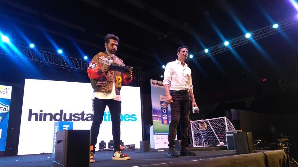Akshay Kumar at HT GIFA launch.