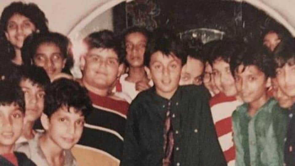 Ranbir Kapoor celebrates his birthday as a child in a throwback pic shared by mom Neetu Kapoor on Instagram.