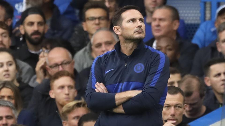 File photo of Chelsea's head coach Frank Lampard.
