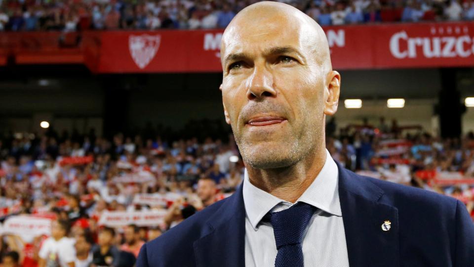 File photo of Real Madrid manager Zinedine Zidane.
