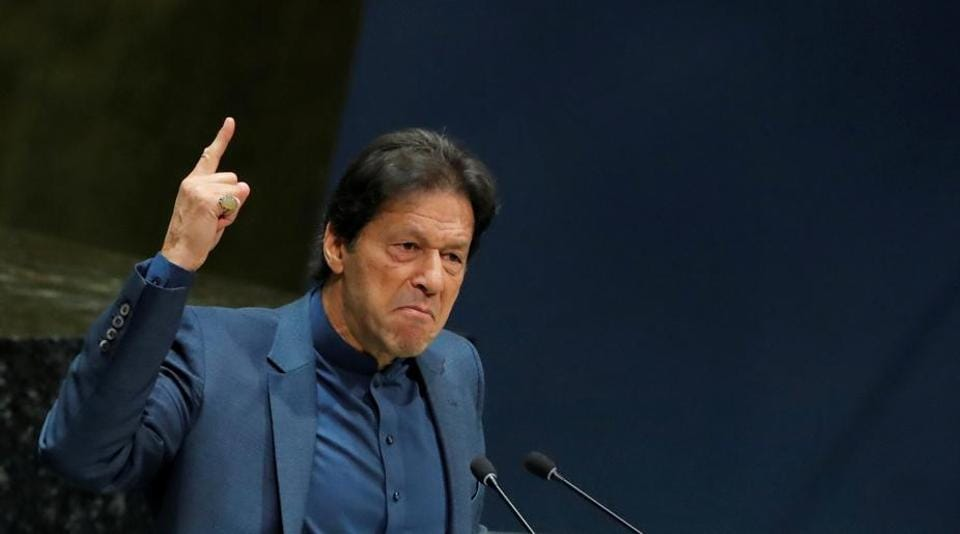"""Pakistan Prime Minister Imran Khan on Friday contended there would be a """"bloodbath"""" when India eases restrictions in Jammu & Kashmir"""