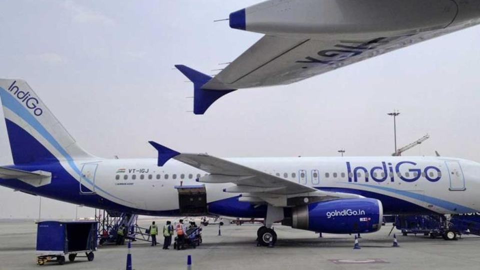 A file photo of IndiGo Airlines