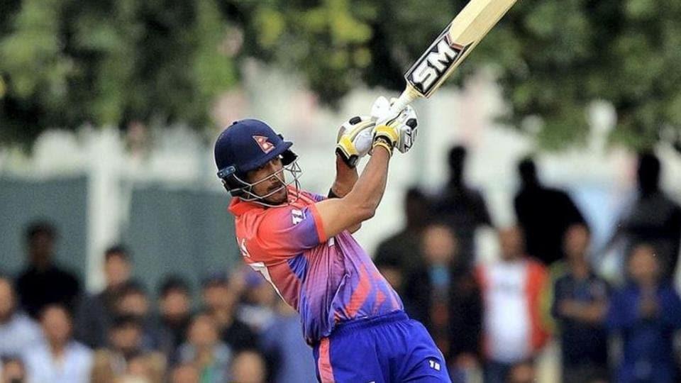 Nepal captain Paras Khadka