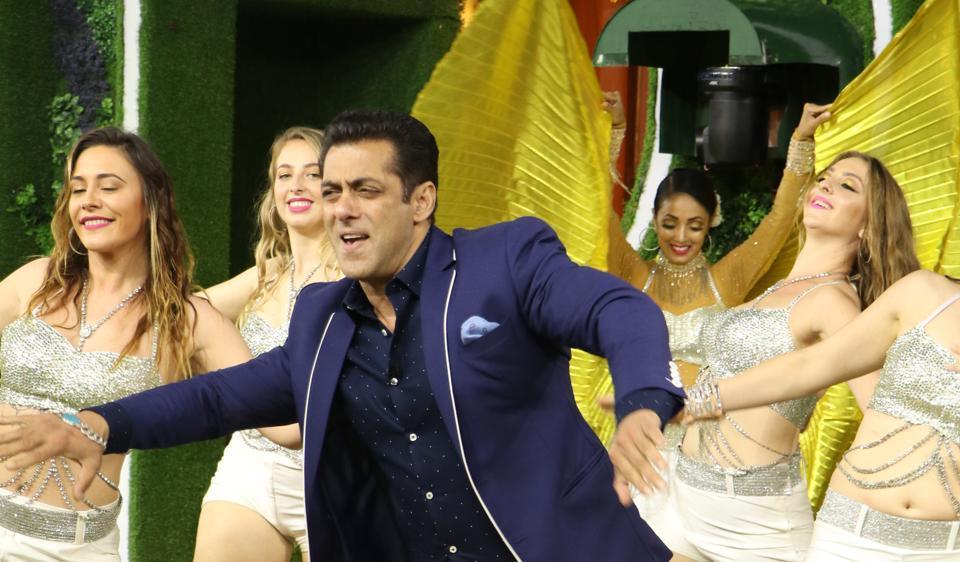 Bigg Boss 13: Salman Khan performs at the grand launch.