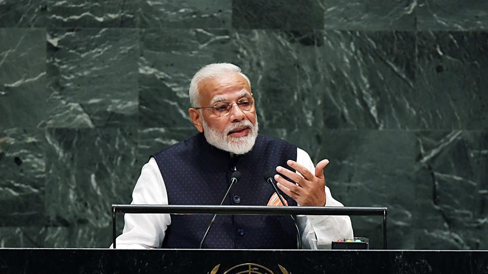 Prime Minister Narendra Modi on Sunday said the party is going to Assembly Elections of Maharashtra and Haryana based on state governments' development work.