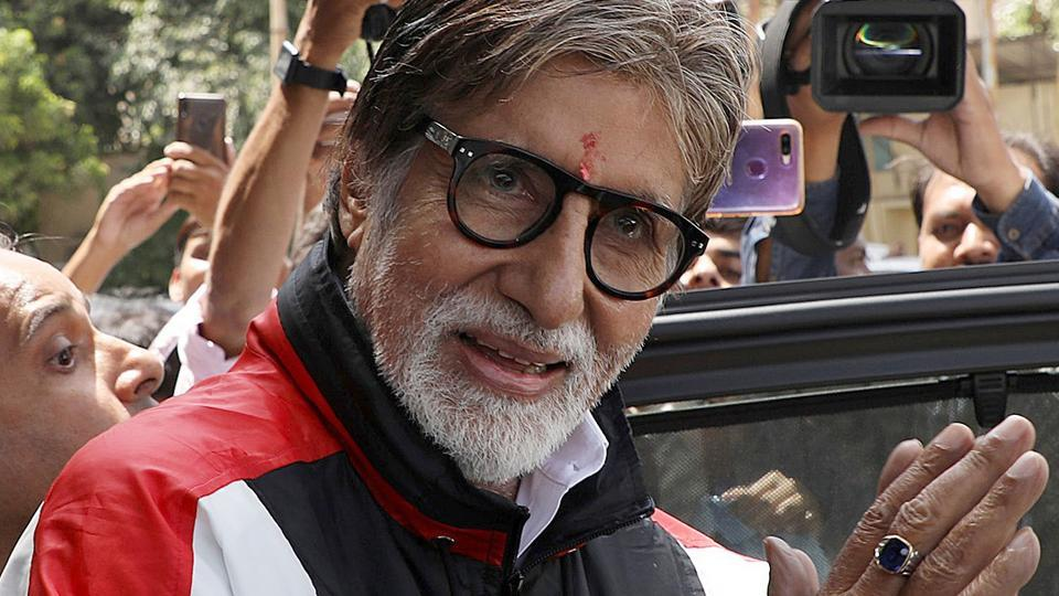 Amitabh Bachchan has a massive following of over 38 million people on Twitter.