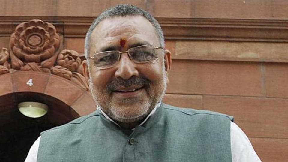 """Indian economy is leaping forward like a tiger and China is """"no match for Indian economy"""", union animal husbandry and fisheries minister Giriraj Singh said here on Saturday."""