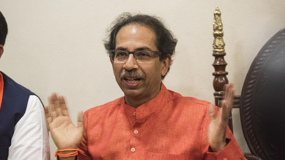 """Shiv Sena chief Uddhav Thackeray on Saturday recalled the """"promise"""" he had made to his late father Bal Thackeray to install a 'Shiv sainik' (party worker) as chief minister of Maharashtra."""