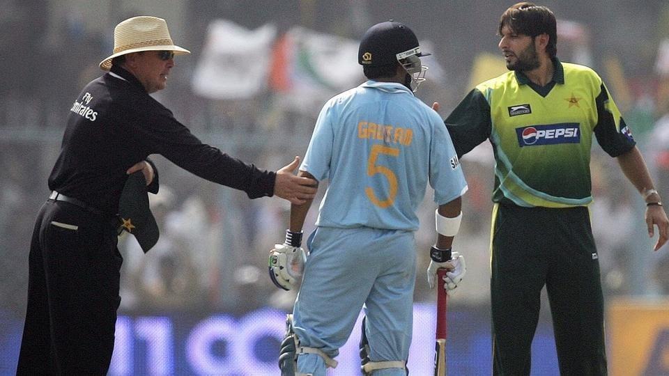 GautamGambhir shared an intense rivalry with Shahid Afridi.