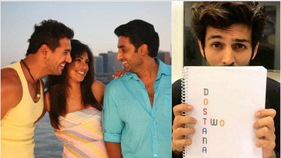 Kartik Aaryan will be seen with Janhvi Kapoor in Dostana 2.