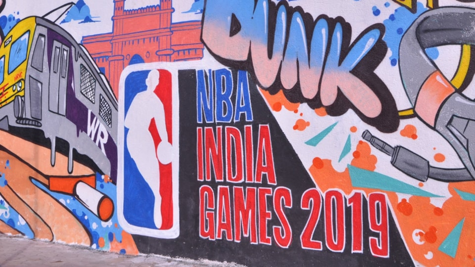 NBA holding its first-ever game in Mumbai.