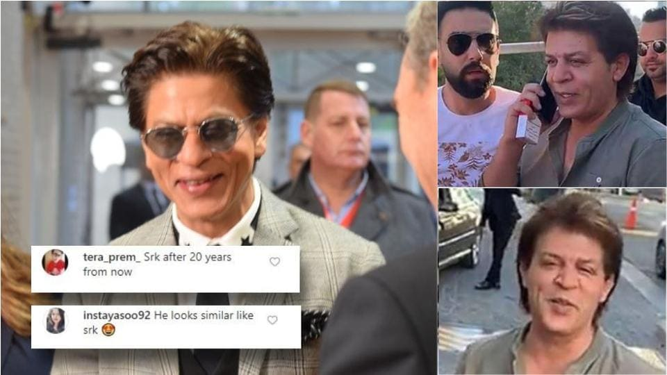Shah Rukh Khan's lookalike from Jordan is a photographer named Akram al-Issawi.