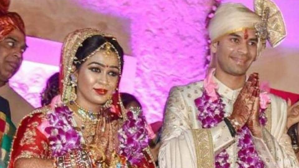Aishwarya Rai and Tej Pratap Yadav were married in May 2018.