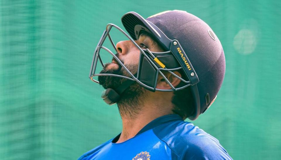 Indian cricketer Rohit Sharma