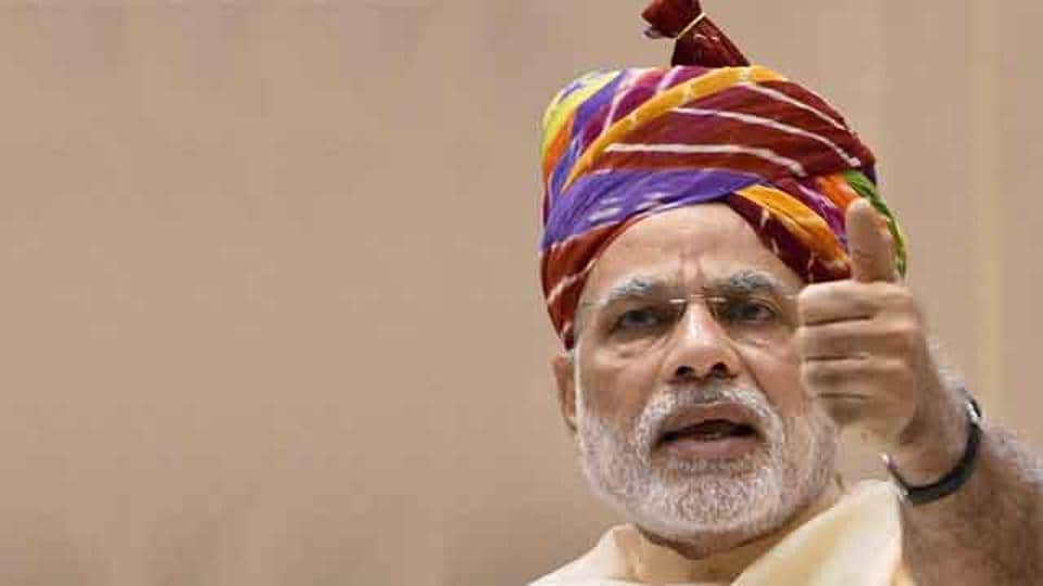 Prime Minister Narendra Modi on Sunday said e-cigarettes have been banned to ensure this new form of intoxication does not destroy the demographically young country.