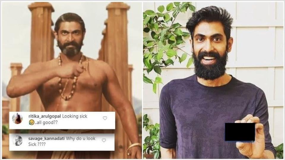 Rana Daggubati looks very different from his Baahubali days.