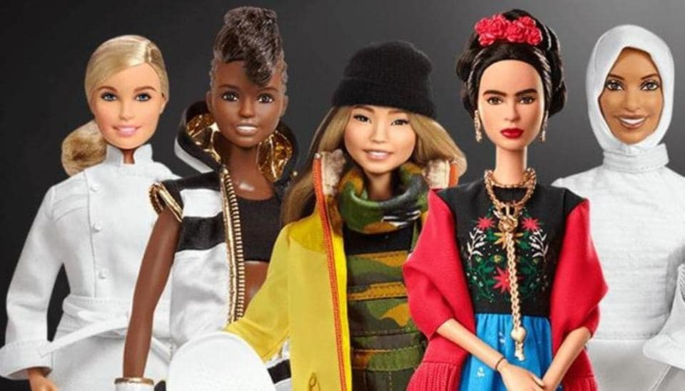 Barbie is promoting role models from around the world to empower girls.