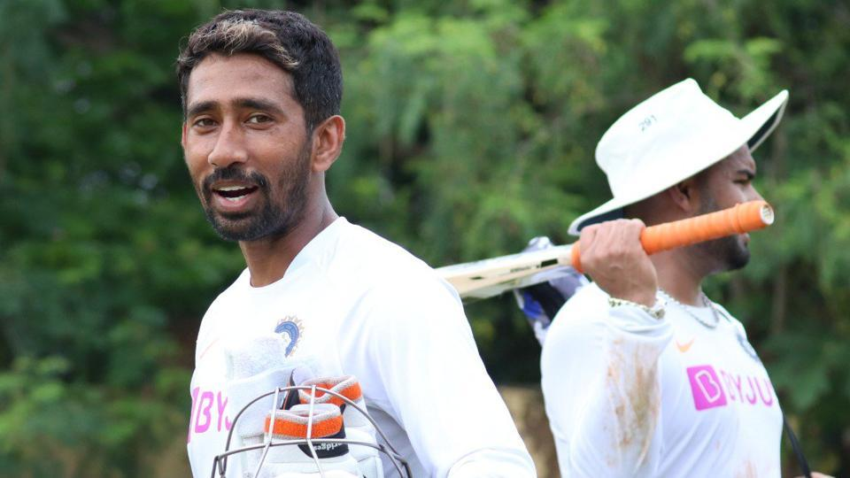 Wriddhiman Saha will replace Rishabh Pant in the team.