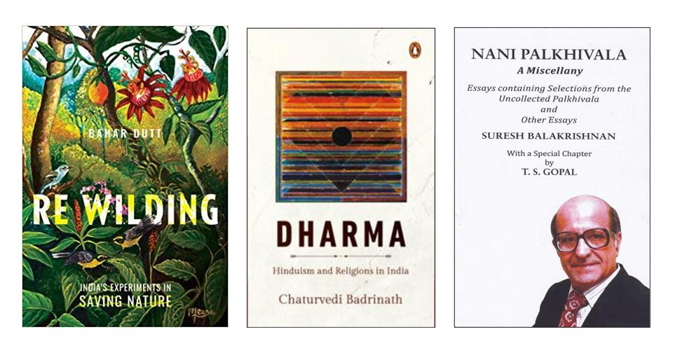 Stories of hope for the environment, a study of dharma, and the writings of a well known tax and constitutional lawyer on this week's list of good reads.