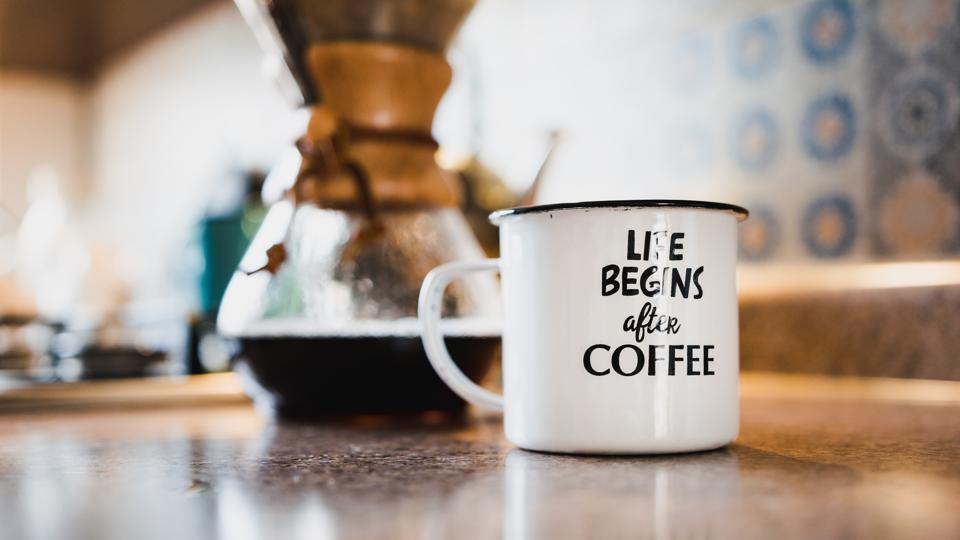Life begins after the first cup of coffee every day.  (Unsplash)