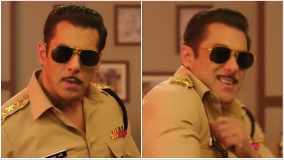 Dabangg 3: Salman Khan as Chulbul Pandey shares FIRST teaser of film; changes name on Twitter